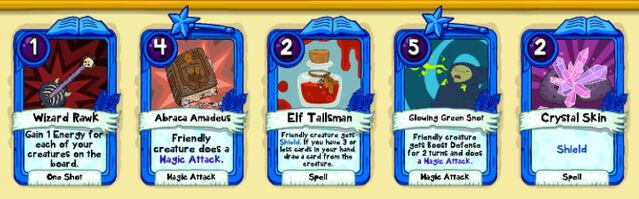 058 Elf Chief cards