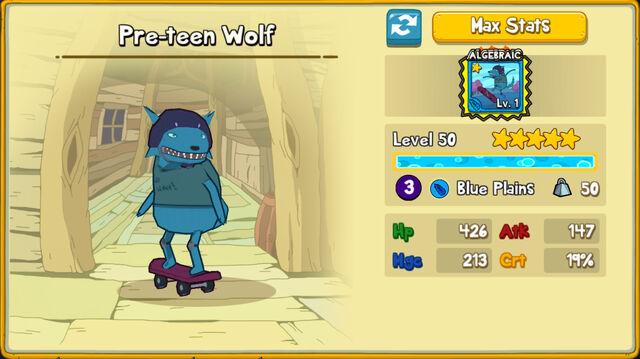 160 Pre-Teen Wolf