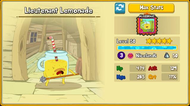 232 Lieutenant Lemonade
