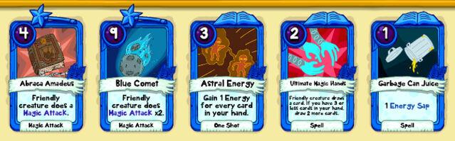 107 Funky Ninja cards