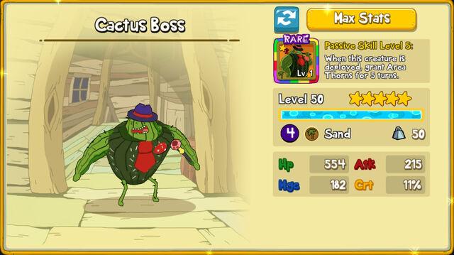 021 Cactus Boss