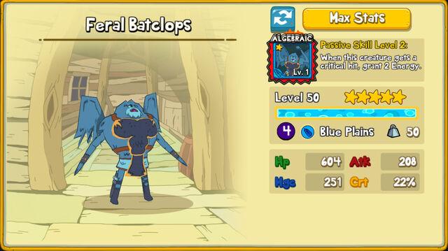 181 Feral Batclops