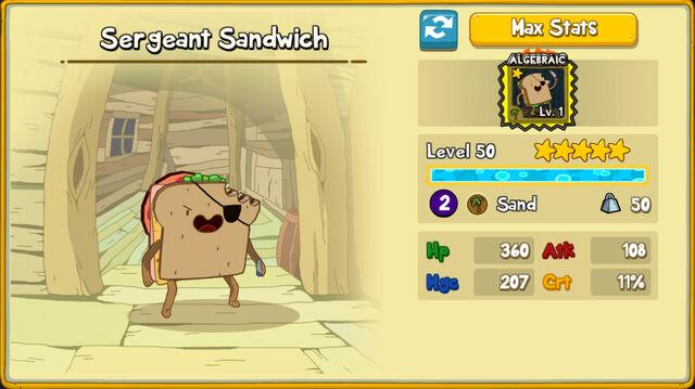 228 Sergeant Sandwich