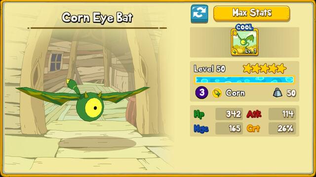 036 Corn Eye Bat