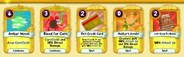 037 Corn Emperor cards
