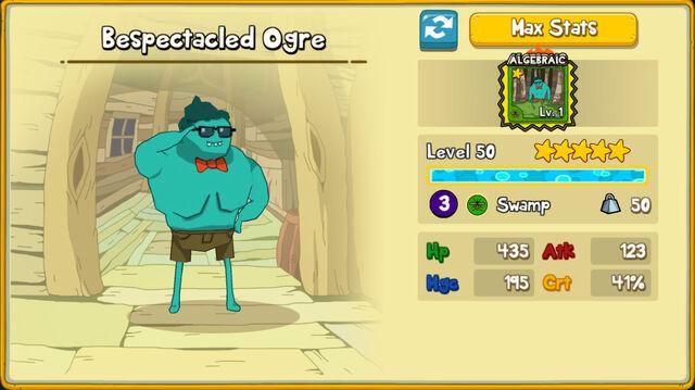 014 Bespectacled Ogre