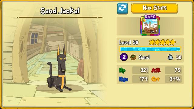126 Sand Jackal