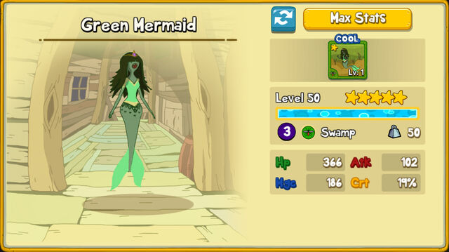 078 Green Mermaid