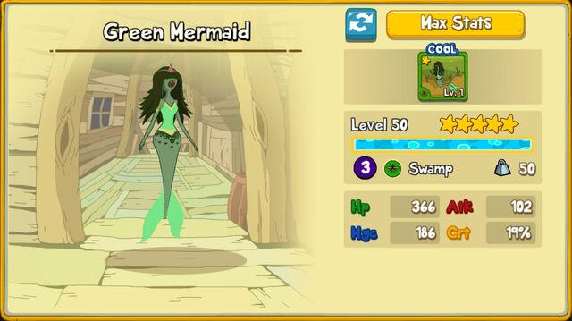 078 Green Mermaid