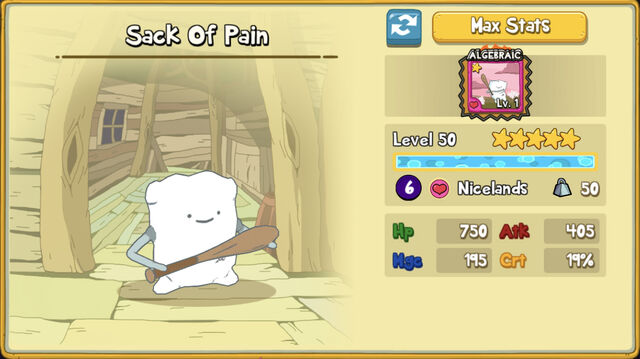 120 Sack Of Pain