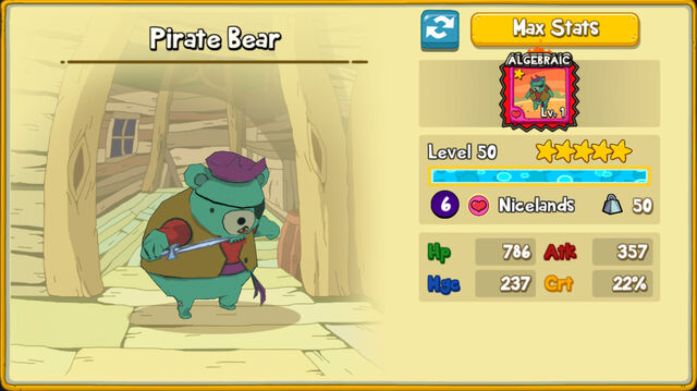114 Pirate Bear