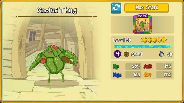 022 Cactus Thug