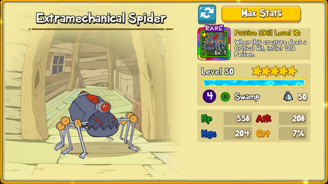 063 Extramechanical Spider
