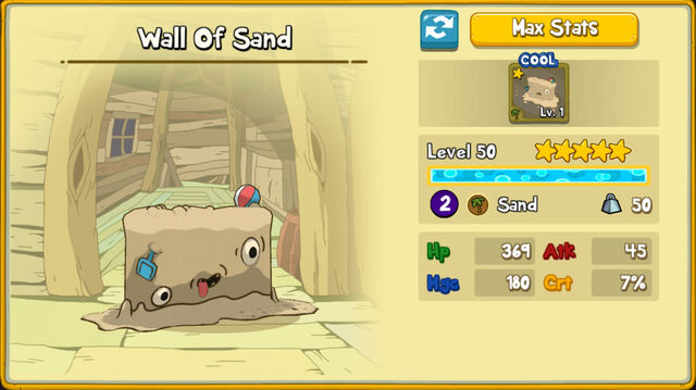 148 Wall Of Sand