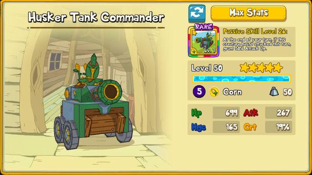 179 Husker Tank Commander