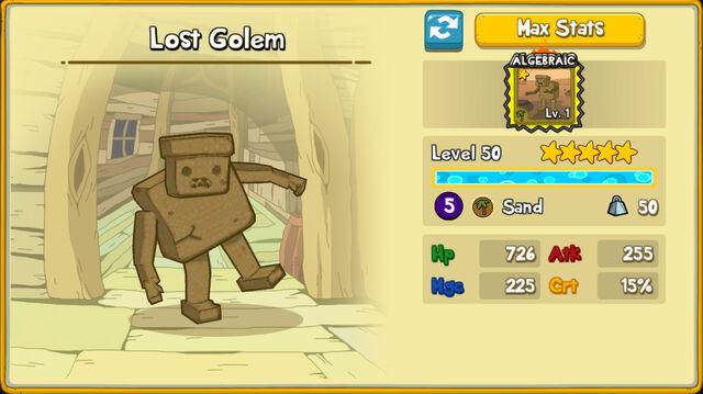 096 Lost Golem
