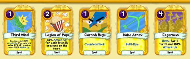 031 Corn Spartan cards