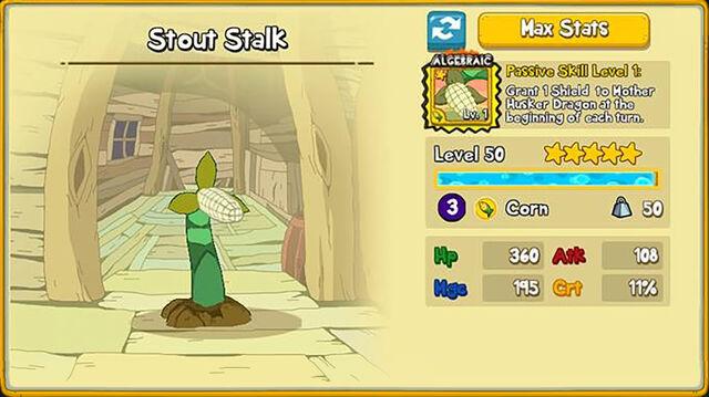 001C Stout Stalk