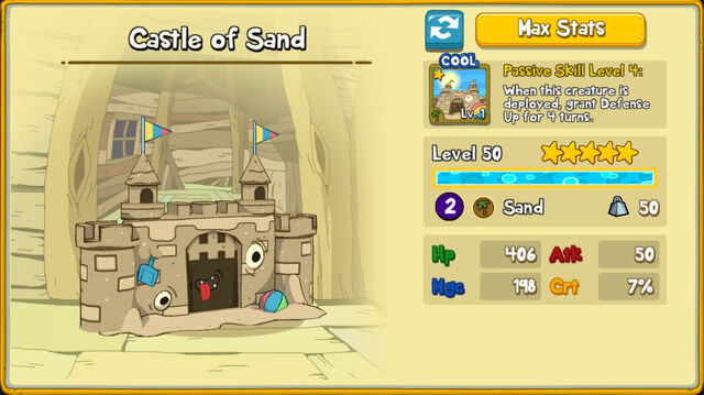 147 Castle of Sand