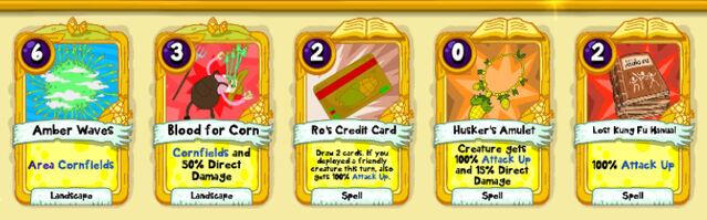 038 Corn Lord cards