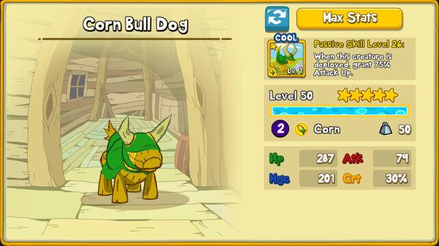 033 Corn Bull Dog