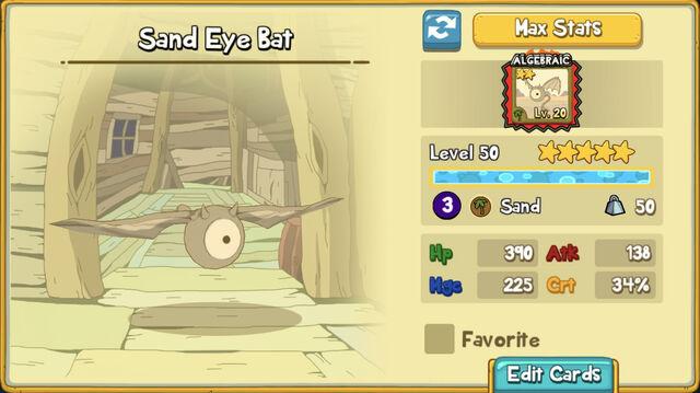 124 Sand Eye Bat