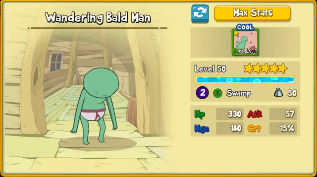 008 Wandering Bald Man