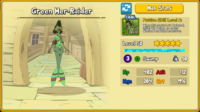 077 Green Mer-Raider