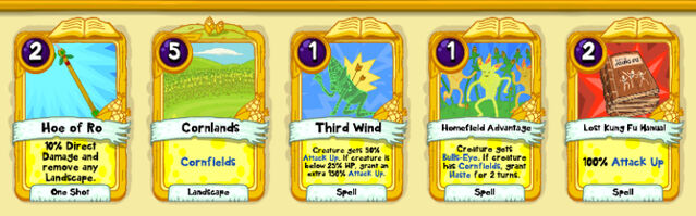 198 Corn Worm cards