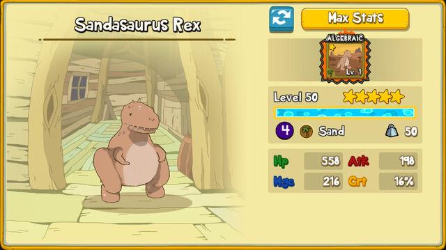 122 Sandasaurus Rex
