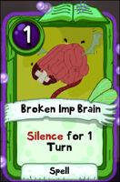 Broken Imp Brain