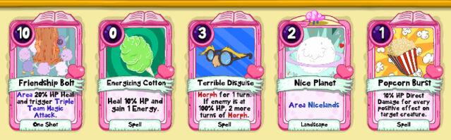 074 Flufflapillar cards