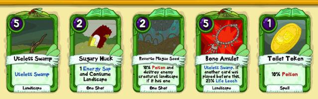 018 Bog Frog Bomb cards