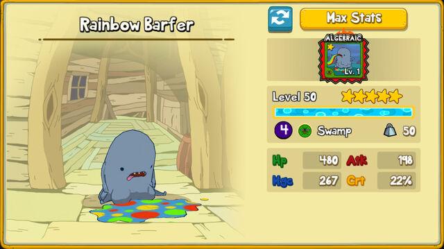 118 Rainbow Barfer