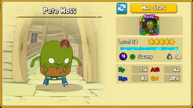 156 Pete Moss