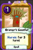 Oramors Gauntlet