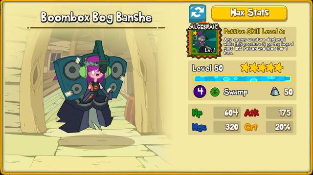 015 Boombox Bog Banshe