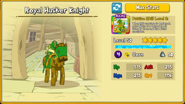 085 Royal Husker Knight