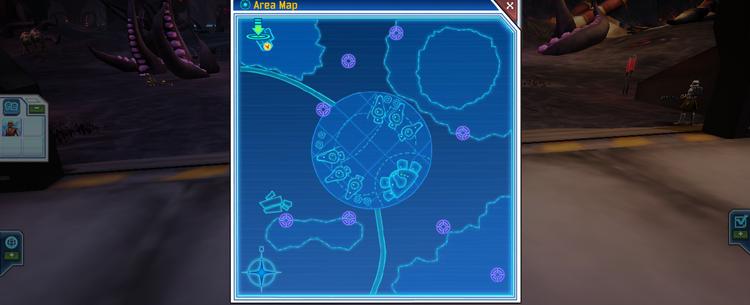 Umbara battle map