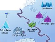 Penguia map