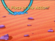 A Piece of the Action Title Card