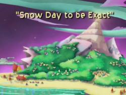2002-01-24 - Episode 104 Snow Way to Be Exact