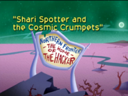 Shari Spotter and the Cosmic Crumpets Title Card