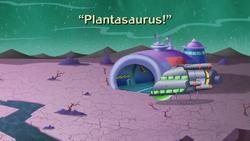 Plantasaurus! Title Card