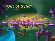 Out of Sync Title Card
