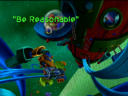 Be Reasonable Title Card