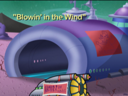 Blowin' in the Wind Title Screen