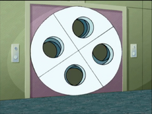 Symmetria turn-symmetry door