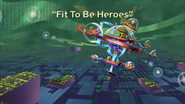 Fit To Be Heroes Title Card