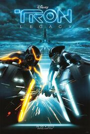 Tron legacy New movie Poster
